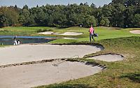 DEN DOLDER - Golfsocieteit De Lage Vuursche, hole 11. FOTO KOEN SUYK