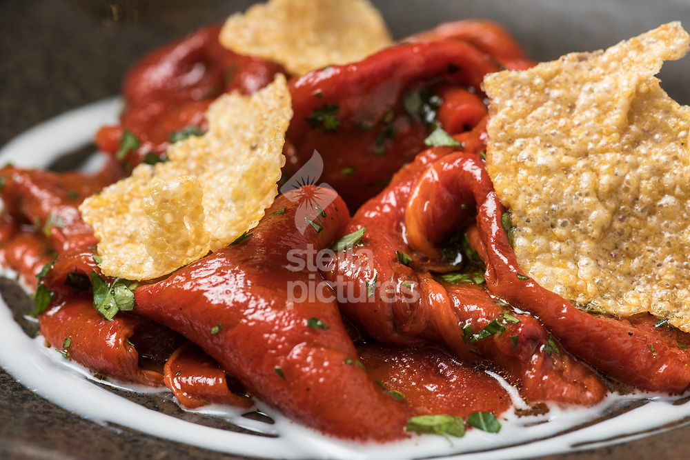 Florina peppers, at Meraki as part of Evening Standard restaurant review.<br /> Picture by Daniel Hambury/Stella Pictures Ltd 07813022858<br /> 10/07/2017