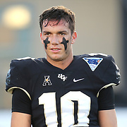 ORLANDO, FL - OCTOBER 14: McKenzie Milton #10 of the UCF Knights during a NCAA football game between the East Carolina Pirates and the UCF Knights at Spectrum Stadium on October 14, 2017 in Orlando, Florida. (Photo by Alex Menendez/Getty Images)