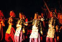 Turkish folklore show, Club Kervansaray (hotel), Kusadasi, Turkey