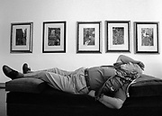 Burim Myftiu American Visual Artist, Contemporary Photographer and Art Curator<br /> Photographer Ara Güler in his studio in Istanbul