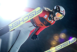 12.12.2015, Nordic Center, Nizhny Tagil, RUS, FIS Weltcup Ski Sprung, Nizhny Tagil, Damen, im Bild Ksenia Kablukova (RUS) // Ksenia Kablukova of Russian Federation during Ladies Skijumping Competition of FIS Skijumping World Cup at the Nordic Center in Nizhny Tagil, Russia on 2015/12/12. EXPA Pictures © 2015, PhotoCredit: EXPA