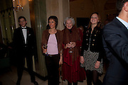 THE MARCHIONESS OF WORCESTER; CLAIRE WARD?  LADY BELLA SOMERSET, Book launch of Lady Annabel Goldsmith's third book, No Invitation Required. Claridges's. London. 11 November 2009