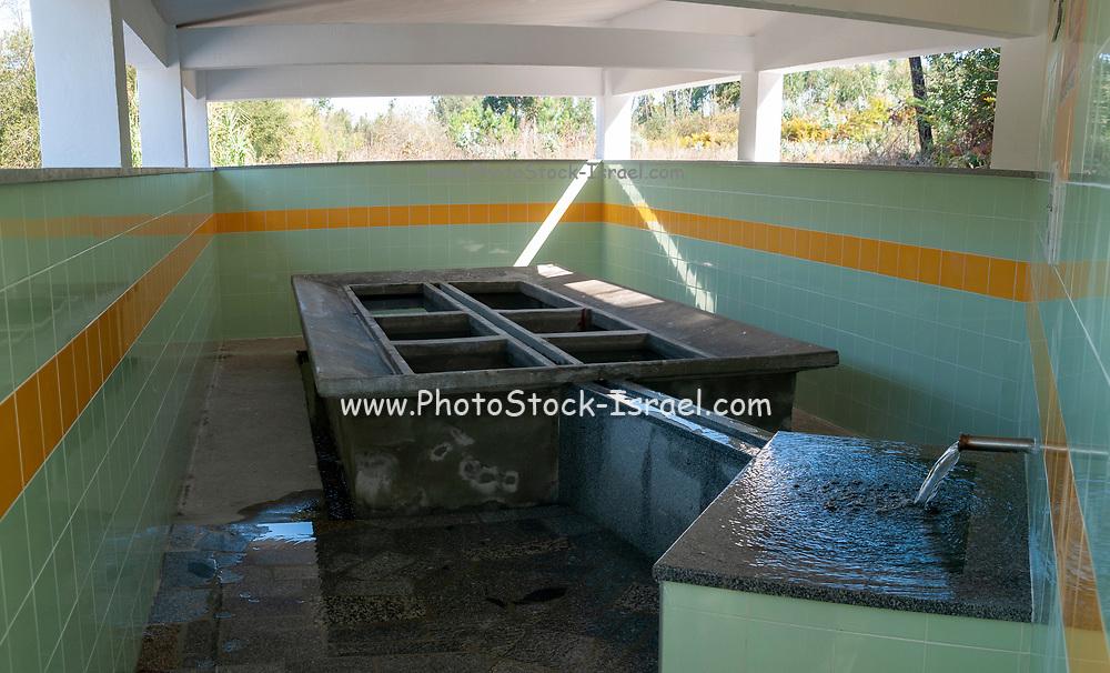 Public wash House / laundry near Sosa, Aveiro district, Portugal