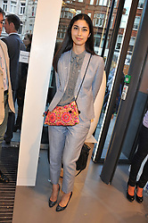 CAROLINE ISSA at a party to celebratethe opening of the Lacoste Flagship Store at 44 Brompton Road, Knightsbridge, London on 20th June 2012.