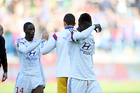 Mohamed YATTARA - 09.05.2015 -  Caen / Lyon  - 36eme journee de Ligue 1<br />