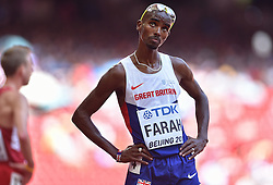 26-08-2015 CHN: IAAF World Championships Athletics day 5, Beijing<br /> Mohamed Farah GBR, 5000 meter<br /> Photo by Ronald Hoogendoorn / Sportida