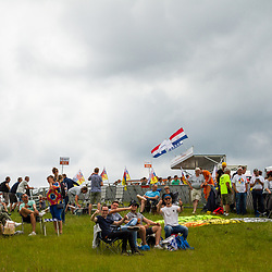 WIJSTER (NED) June 20: <br /> CYCLING <br /> Dutch Nationals Road Men up and around the Col du VAM<br /> impression cycling fans glad to be back at the race
