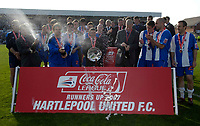 Photo: Jed Wee/Sportsbeat Images.<br /> Hartlepool United v Bristol Rovers. Coca Cola League 2. 05/05/2007.<br /> <br /> Hartlepool finish runners up in League Two.