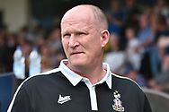 Bradford City Manager Simon Grayson  during the EFL Sky Bet League 1 match between Rochdale and Bradford City at Spotland, Rochdale, England on 21 April 2018. Picture by Mark Pollitt.