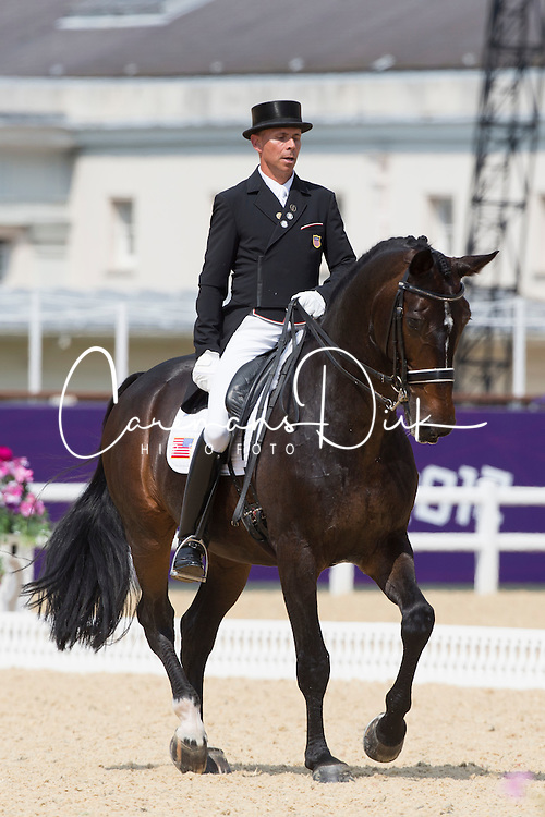 Peters Steffen (USA) - Ravel<br /> Olympic Games London 2012<br /> © Dirk Caremans