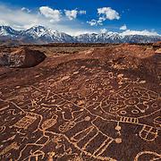 Sky Rock Petroglyph -  Eastern Sierras, CA