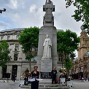 Women in Black Silent vigil against militarism and war
