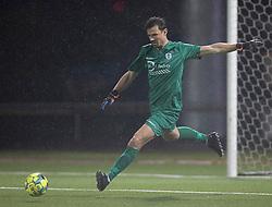 Kevin Stuhr Ellegaard (FC Helsingør) under kampen i 1. Division mellem Fremad Amager og FC Helsingør den 21. oktober 2020 i Sundby Idrætspark (Foto: Claus Birch).