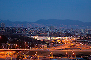 Belo Horizonte_MG, Brasil. ..Na foto, Vista geral da capital mineira. No primeiro plano trecho da Linha Verde na Avenida Cristiano Machado e o Minas Shopping. Ao fundo, a Serra do Curral em Belo Horizonte, Minas Gerais...Panoramic view of Belo Horizonte. In this photo the Linha Verde and Cristiano Machado avenue and Minas Shopping. In the background Serra do Curral in Belo Horizonte, Minas Gerais...Foto: NIDIN SANCHES / NITRO