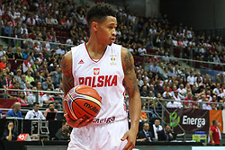 September 17, 2018 - Gdansk, Poland - A.J. Slaughter (6) of Poland in action is seen in Gdansk, Poland on 17 September 2018  Poland faces Croatia during the Basketball World Cup China 2019 Qualifiers game in the ERGO Arena sports hall in Gdansk  (Credit Image: © Michal Fludra/NurPhoto/ZUMA Press)