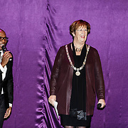 NLD/Almere/20150205 - Koningin Maxima bezoekt Almere on Stage, Annemarie Jorritsma
