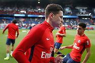 Paris Saint Germain's German midfielder Julian Draxler warms up before the French Championship Ligue 1 football match between Paris Saint-Germain and Girondins de Bordeaux on September 30, 2017 at the Parc des Princes stadium in Paris, France - Photo Benjamin Cremel / ProSportsImages / DPPI