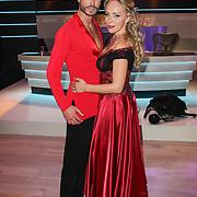 NLD/Hilversum/20120916 - 4de live uitzending AVRO Strictly Come Dancing 2012, Sabine Uitslag met danspartner Pascal Maassen