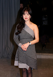 Song Hye-kyo attending the Burberry London Fashion Week Show at Makers House, Manette Street, London