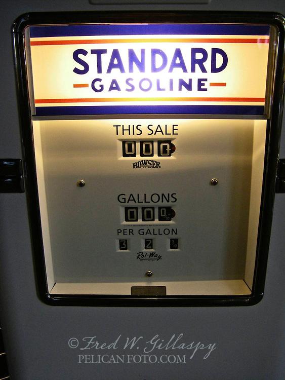 Antique Standard Oil Gas Pump ~ Tahoe Maritime Museum