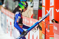 Jurij Tepes (SLO) during the Trial Round of the Ski Flying Hill Individual Competition at Day 1 of FIS Ski Jumping World Cup Final 2019, on March 21, 2019 in Planica, Slovenia. Photo by Vid Ponikvar / Sportida