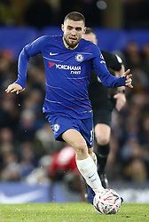 February 18, 2019 - London, United Kingdom - Chelsea's Mateo Kovacic.during FA Cup Fifth Round between Chelsea and Manchester United at Stanford Bridge stadium , London, England on 18 Feb 2019. (Credit Image: © Action Foto Sport/NurPhoto via ZUMA Press)