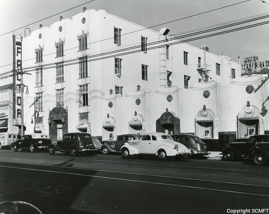 1939 Max Factor Salon on Highland Ave.