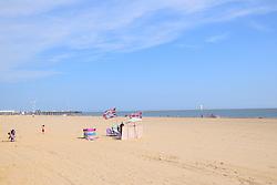 Lowestoft beach, Suffolk, UK August 2016