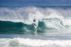 October 12, 2017 - Rookie Leonardo Fioravanti of Italy will surf in Round Two of the 2017 Quiksilver Pro France after placing third in Heat 8 of Round One at Hossegor. (Credit Image: © WSL via ZUMA Press)