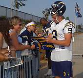 NFL-San Diego Chargers Training Camp-Jul 28, 2003