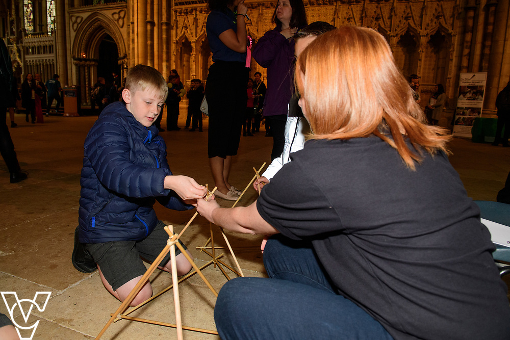 SPARK! Engineering Festival 2019 | day one held at Lincoln Cathedral.<br /> <br /> Picture: Chris Vaughan Photography for SPARK<br /> Date: May 3, 2019