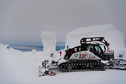 February 8, 2019 - Re, SWEDEN - 190208 General view of a snowcat during the FIS Alpine World Ski Championships on February 8, 2019 in re..Photo: Joel Marklund / BILDBYRN / kod JM / 87851 (Credit Image: © Joel Marklund/Bildbyran via ZUMA Press)