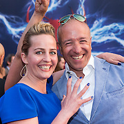 NLD/Amsterdam/20140422 - Premiere The Amazing Spiderman 2, Esther Schouten, Tim Coronel