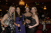 Philippa Ronalo, Francesca O'Connor, Amelia O'Connor and Imogen King. White Knights Ball, Grosvenor House. Park Lane. London. 6  January 2006. ONE TIME USE ONLY - DO NOT ARCHIVE  © Copyright Photograph by Dafydd Jones 66 Stockwell Park Rd. London SW9 0DA Tel 020 7733 0108 www.dafjones.com