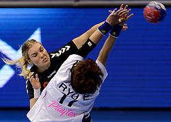 08-12-2013 HANDBAL: WERELD KAMPIOENSCHAP ZUID KOREA - NEDERLAND: BELGRADO <br /> 21st Women s Handball World Championship Belgrade / Sanne van Olphen<br /> ©2013-WWW.FOTOHOOGENDOORN.NL