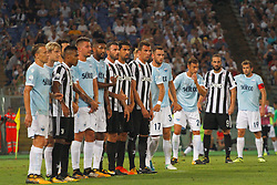 Aug 13, 2017 - Rome, Italy - This evening in Rome at the Olympic Stadium, Juventus and Lazio teams dealt face-to-face with the winning Super Cup of Italy, the TIM tournament. The victory went to Lazio. (Credit Image: © Fabio Sasso via ZUMA Wire)