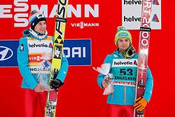 22.12.2013, Gross Titlis Schanze, Engelberg, SUI, FIS Weltcup Ski Sprung, Engelberg, Herren, im Bild v l Kamil Stoch, Jan Ziobro (POL) // during mens FIS Ski Jumping world cup at the Gross Titlis Schanze in Engelberg, Switzerland on 2013/12/22. EXPA Pictures © 2013, PhotoCredit: EXPA/ Eibner-Pressefoto/ Socher<br /> <br /> *****ATTENTION - OUT of GER*****