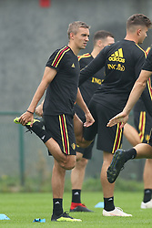 September 5, 2018 - Tubize, BELGIUM - Belgium's Timothy Castagne pictured during a training session of Belgian national soccer team the Red Devils in Tubize, Wednesday 05 September 2018. The team is preparing for a friendly match against Scotland on 07 September and the UEFA Nations League match against Iceland on 11 September. BELGA PHOTO BRUNO FAHY (Credit Image: © Bruno Fahy/Belga via ZUMA Press)
