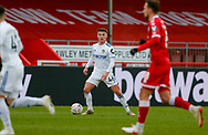 Leeds United midfielder Jamie Shackleton (46)  during the The FA Cup match between Crawley Town and Leeds United at The People's Pension Stadium, Crawley, England on 10 January 2021.