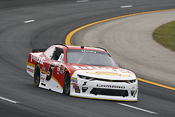July 14, 2017 - Loudon, NH, United States of America - July 14, 2017 - Loudon, NH, USA: Michael Annett (5) takes to the track to practice for the Overton's 200 at New Hampshire Motor Speedway in Loudon, NH. (Credit Image: © Justin R. Noe Asp Inc/ASP via ZUMA Wire)