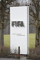 Fotball<br /> Foto: imago/Digitalsport<br /> NORWAY ONLY<br /> <br /> Die FIFA-Zentrale am 21.03.2015 in Zürich Die FIFA ( Internationale de Football Association ) ist der Weltfußballverband mit Sitz in Zürich. Die FIFA organisiert Fußballwettbewerbe, darunter die Männer- und die Frauen-Fußball WM. Der Präsident ist Sepp Blatter