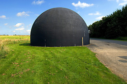 The gunnery dome, used for training members of the RAF Regiment to<br />