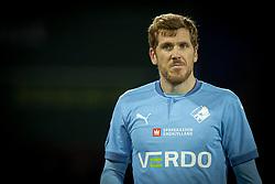 Mathias Nielsen (Randers FC) under kampen i 3F Superligaen mellem FC Nordsjælland og Randers FC den 19. oktober 2020 i Right to Dream Park, Farum (Foto: Claus Birch).
