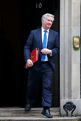 © licensed to London News Pictures. London, UK 18/03/2015. Defence Secretary Michael Fallon attending to a cabinet meeting in Downing Street on the Budget Day, Wednesday, 18 March 2015. Photo credit: Tolga Akmen/LNP