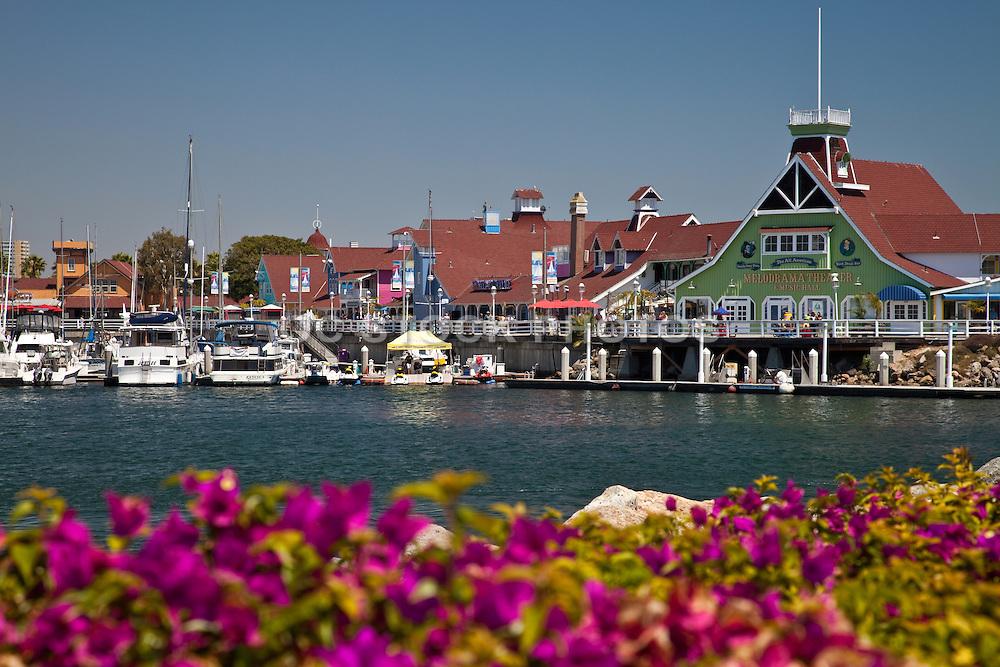 Shoreline Village Waterfront View In Long Beach