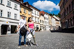 Neikid, Slovenian hand made drawstring backpack, on May 19, 2017 in Ljubljana, Slovenia. Photo by Vid Ponikvar / Sportida