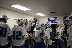 2013 February 17: Duke Blue Devils during a 3-15 win over the Mercer Bears at Koskinen Stadium in Durham, NC.