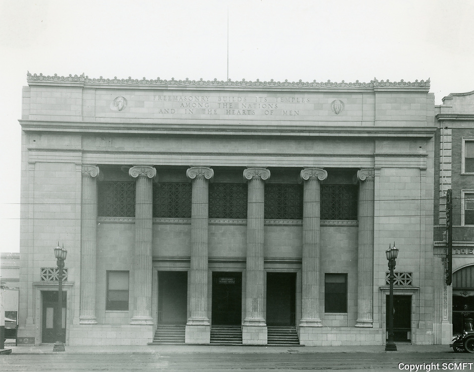 1925 Masonic Temple on Hollywood Blvd. at Orchid Ave.