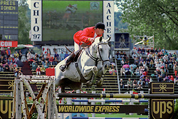 Romp Bert - Mr Blue<br /> CHIO Aachen 1997<br /> Photo © Hippo Foto